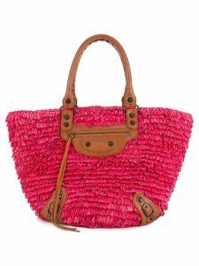 Balenciaga Pre-Owned fringe tote bag - Pink