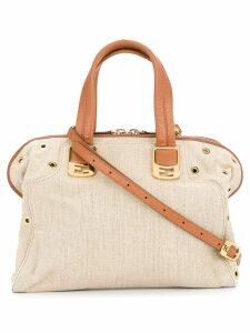 Fendi Pre-Owned two-way handbag - Neutrals