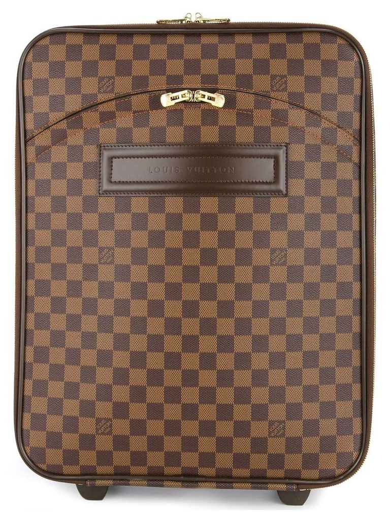 Louis Vuitton Vintage Pegase 4 carry on travel bag - Brown