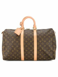 Louis Vuitton Pre-Owned Keepall 45 luggage bag - Brown