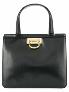 Céline Pre-Owned double compartment structured tote - Black