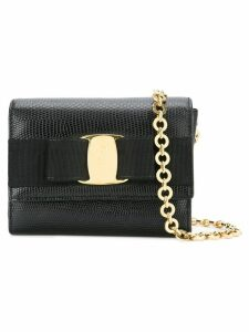 Salvatore Ferragamo Pre-Owned Vara Bow chain bag - Black