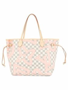 Louis Vuitton Pre-Owned Neverfull MM tote - White