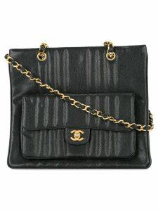 Chanel Pre-Owned Mademoiselle CC shoulder bag - Black