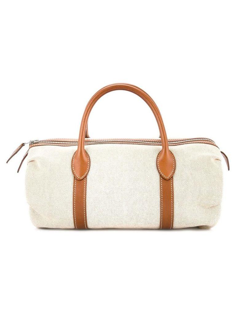 Hermès Vintage Polochon Mademoiselle bag - Brown