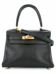 Hermès Pre-Owned Kelly 25 2way gulliver handbag - Black