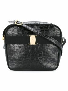 Salvatore Ferragamo Pre-Owned Vara crocodile-effect shoulder bag -