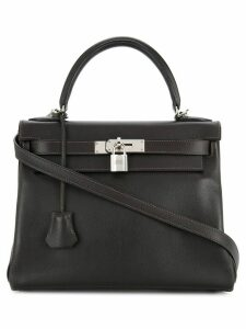 Hermès Pre-Owned 2005 Kelly top handle bag - Black