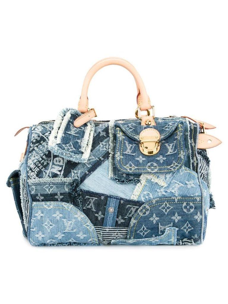 Louis Vuitton Vintage Speedy 30 Denim tote - Blue