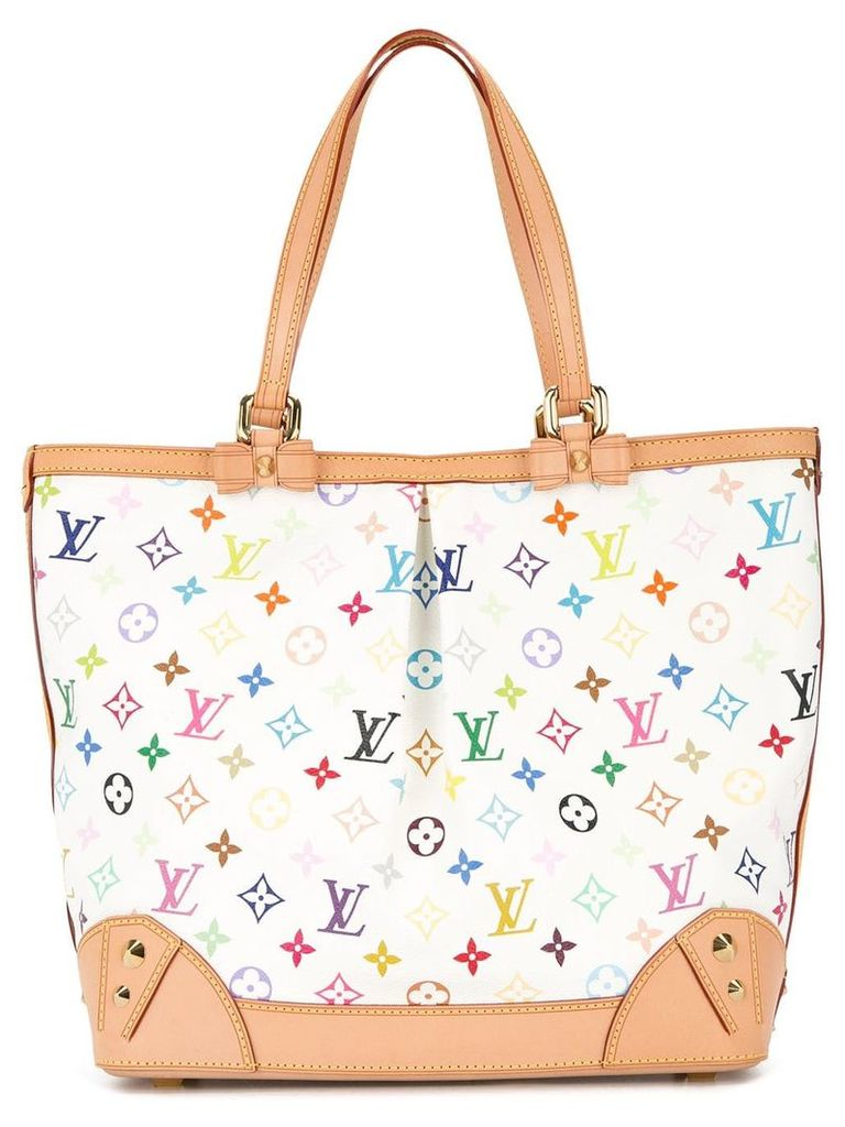 Louis Vuitton Vintage Sharleen multicolour monogram tote bag - White
