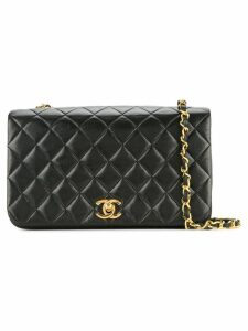 Chanel Pre-Owned quilted chain shoulder bag - Black