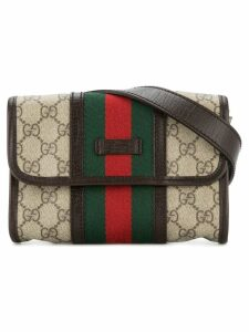 Gucci Pre-Owned GG Shelly line belt bag - Brown