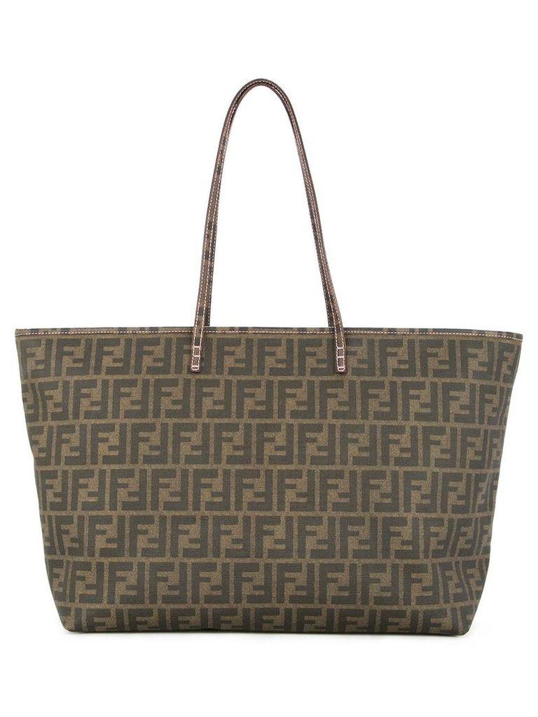 Fendi Vintage Zucca pattern tote bag - Brown