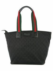 Gucci Pre-Owned Shelly Line tote bag - Black