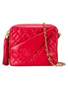 Chanel Pre-Owned fold detail crossbody bag - Red