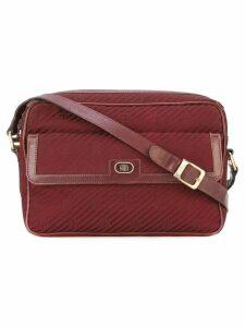 Emilio Pucci Pre-Owned monogram logo shoulder bag - Red