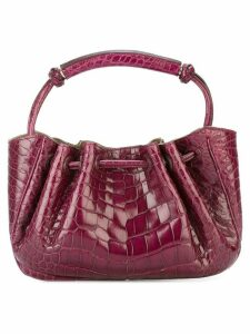 Giorgio Armani Pre-Owned embossed clutch bag - Pink