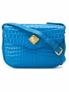 Versace Pre-Owned flap shoulder bag - Blue