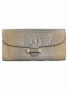 Yves Saint Laurent Pre-Owned small clutch - Grey