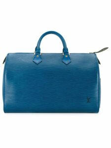 Louis Vuitton Pre-Owned Speedy 35 tote - Blue