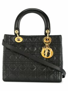 Christian Dior Pre-Owned Lady Dior Cannage bag - Black