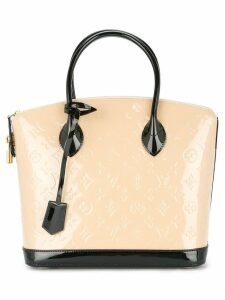 Louis Vuitton Pre-Owned LockIt PM tote bag - Neutrals