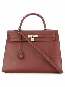 Hermès Pre-Owned Kelly Sellier 35 bag - Brown