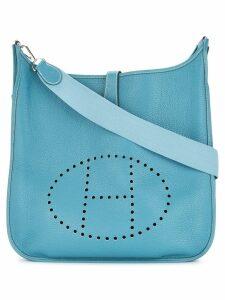 Hermès Pre-Owned Evelyne TGM shoulder bag - Blue