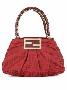 Fendi Pre-Owned Zucca chain handbag - Red
