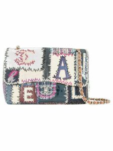 Chanel Pre-Owned patchwork chain shoulder bag - Multicolour