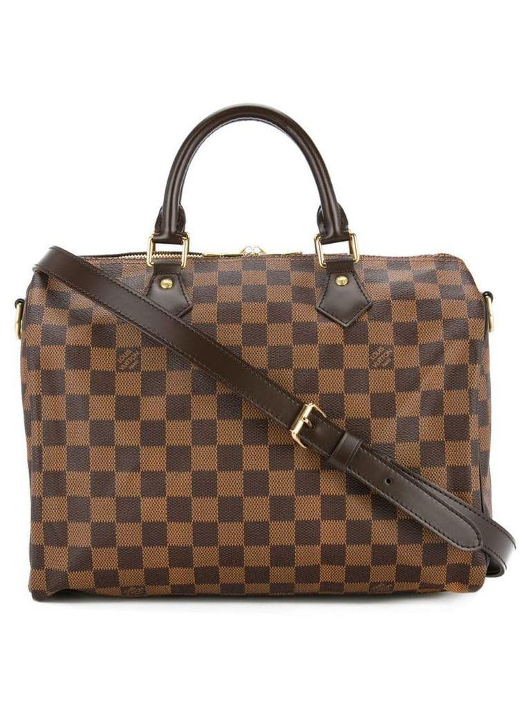 Louis Vuitton Vintage Speedy Bandouliere 30 2-way Tote - Brown