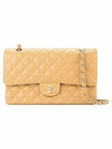 Chanel Pre-Owned double flap shoulder bag - Neutrals