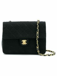 Chanel Pre-Owned mini quilted bag - Black