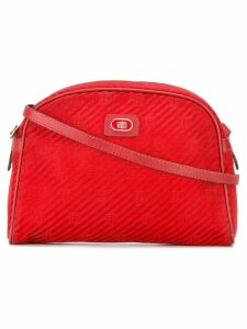 Emilio Pucci Pre-Owned logo plaque half moon bag - Red