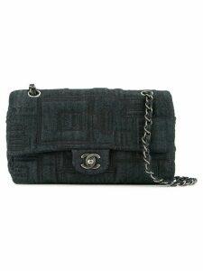 Chanel Pre-Owned quilted denim shoulder bag - Blue