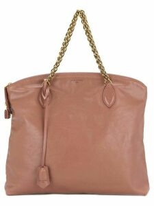 Louis Vuitton Pre-Owned Lockit chain tote bag - Pink