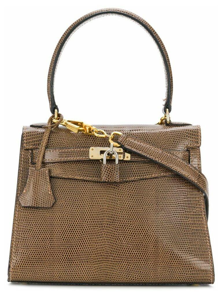A.N.G.E.L.O. Vintage Cult Cellerini small tote bag - Brown