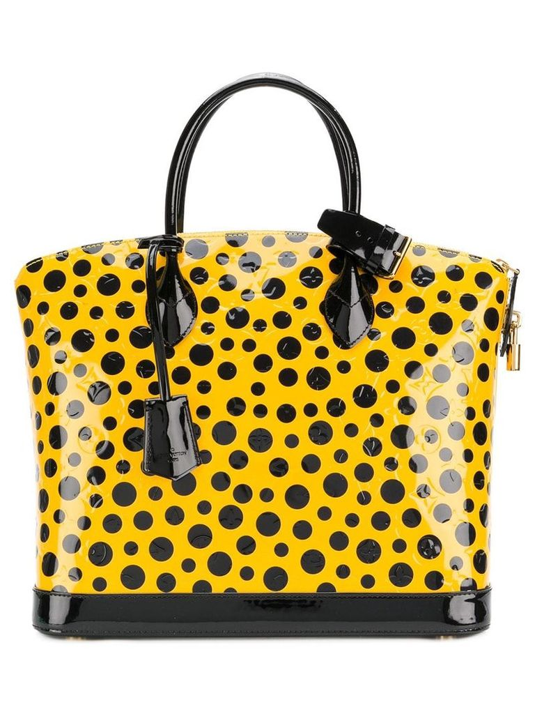 Louis Vuitton Vintage 2010 Lock It tote - Yellow