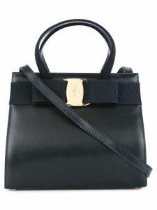Salvatore Ferragamo Pre-Owned Vara Bow 2way handbag - Blue