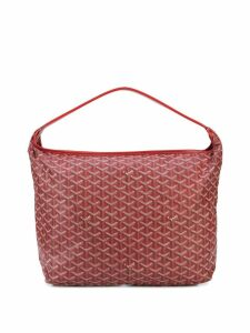 Goyard Pre-Owned Carryall monogram shoulder bag - Red