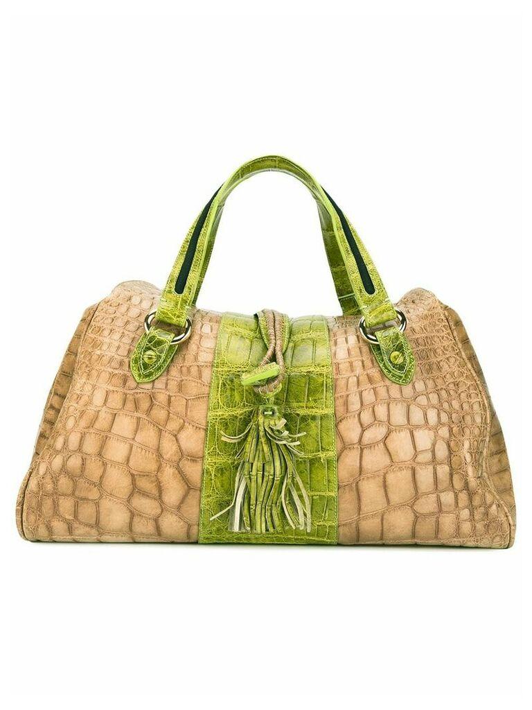 Giorgio Armani Vintage two-tone bag - Neutrals