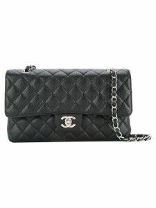 Chanel Pre-Owned double flap shoulder bag - Black