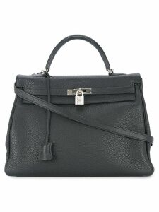 Hermès Pre-Owned Kelly Retourne 35 bag - Black