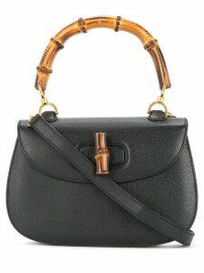 Gucci Pre-Owned Bamboo Line 2-way handbag - Black