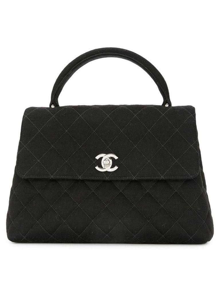Chanel Vintage CC quilted handbag - Black