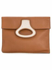 Louis Vuitton Pre-Owned portfolio clutch hand bag - Brown