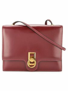 Hermès Pre-Owned logo shoulder bag - Red