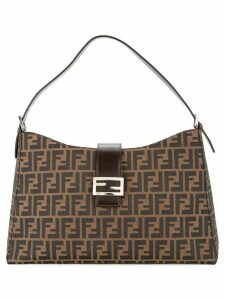 Fendi Pre-Owned Zucca shoulder bag - Brown