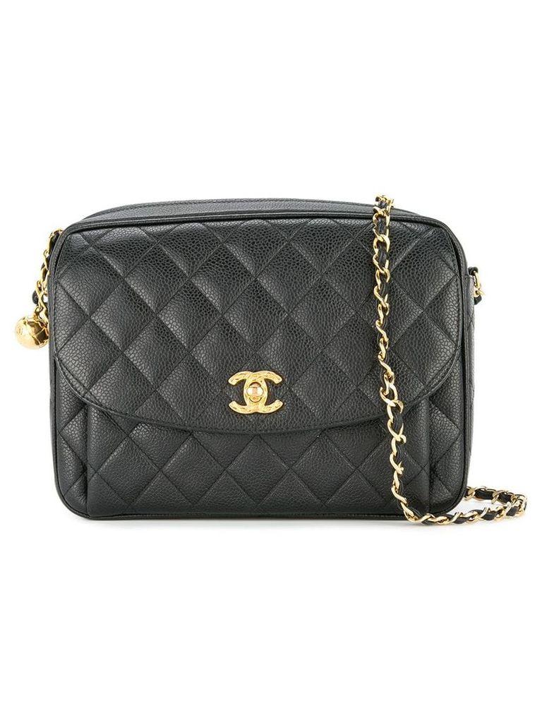 Chanel Vintage CC chain shoulder bag - Black