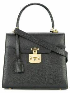 Gucci Pre-Owned Lady Lock Logos 2way Hand Bag - Black